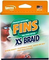 (36kg, Coral Orange) - Fins Spectra 300-Yards Extra Smooth Fishing Line, Coral Orange, 36kg
