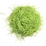 Baosity 20g Shred Paper Raffia Gift Box Filling Materials Confetti for Wedding Party - Deep Fruit Green, as described
