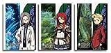 新・世界樹の迷宮 ミレニアムの少女 クリアポスターセット B (サイモン・ラクーナ・アーサー)