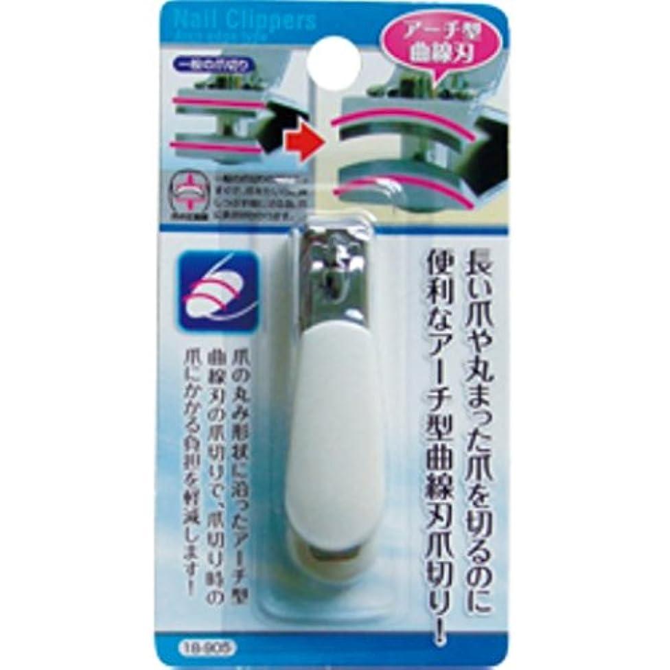 放射能完了事実セイワプロ ネイルケア 長い爪の負担軽減 アーチ型曲線刃爪切りS 18-905 まとめ売り 12個