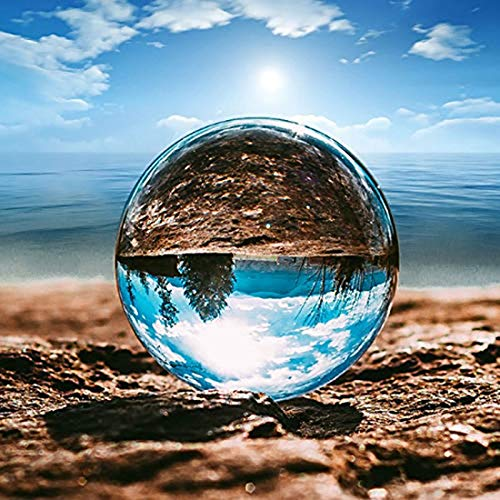 クリスタルボール レンズボール 撮影 60mm 無色透明 水晶玉 クリスタル台座付き 拭き取り布 風水グッズ インテリア 置く物 女性向け プレゼント