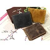 Ain Soph(アインソフ)【正規取扱店】DA712-SAG レザーマネークリップ 二つ折り 財布