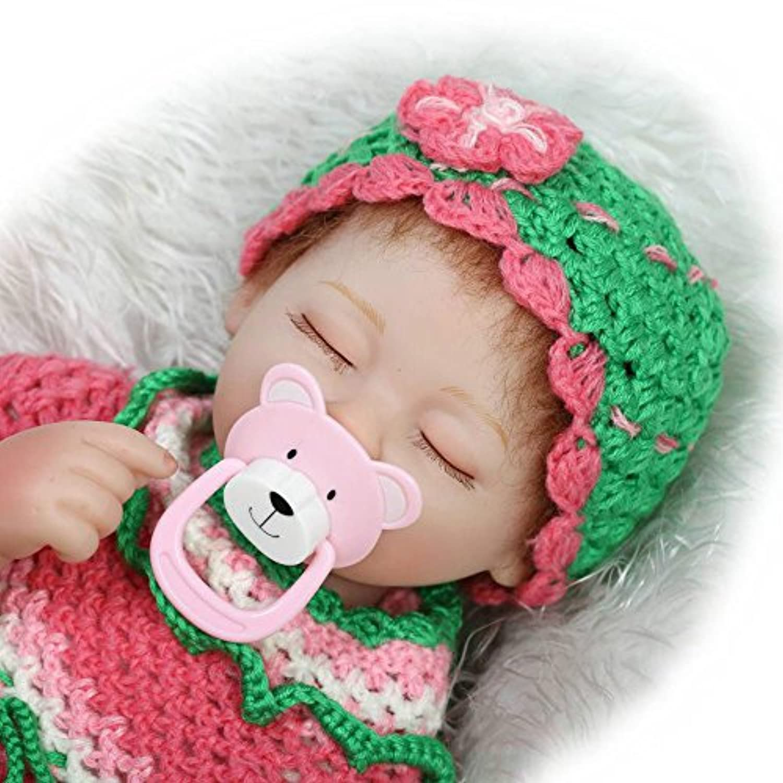 Sleeping Reborn新生児赤ちゃん人形ソフトビニールReal Lifelikeプリンセス人形16インチ
