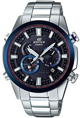 [カシオ]CASIO 腕時計 エディフィス 電波ソーラー EQW-T640DB-1A2JF メンズの詳細を見る