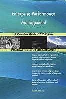 Enterprise Performance Management A Complete Guide - 2020 Edition