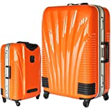 [BB-Monsters] ビービーモンスターズ ストッパー付 スーツケース TSAロック搭載 フレームタイプ 旅行カバン 鳳凰