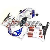 オートバイの外装部品 適応ホンダ CBR250RR MC22 1990 1991 1992 1993 1994 CBR250RR MC22 90 91 92 93 94 ABS樹脂 カウリングオートバイカバーフルセット青赤白の星