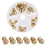 INCREWAY 25pcs M6 1.75mm 0.2mm 0.3mm 0.4mm 0.6mm 0.8mm 1mm 用E3D プリンター押出機真鍮ノズルプリントヘッド