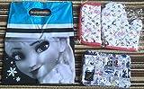 ディズニー プリンセス zipper 雑誌付録 バッグ ポーチ アナと雪の女王 不思議の国のアリス 眠れる森の美女 × girlコラボ