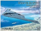 モデルコレクト 1/72 アメリカ空軍 B-2A スピリット ステルス爆撃機 w/MOP GBU-57 プラモデル MODUA72206