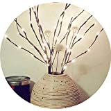 Amaping クリエイティブで暖かいLED柳の枝のランプ フローラルライト 20電球 30インチ ホームクリスマスパーティー ガーデン装飾