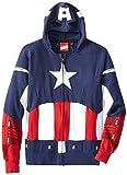 アベンジャーズ Avengers キャプテンアメリカの変身パーカー衣装・コスチューム Lサイズ [並行輸入品]