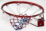 (モデラ)MODELA 公式サイズ バスケットゴール★コンクリート壁にも取り付け可能な頑丈なバスケットリング★ネット付き★バスケットボール★直径45cm