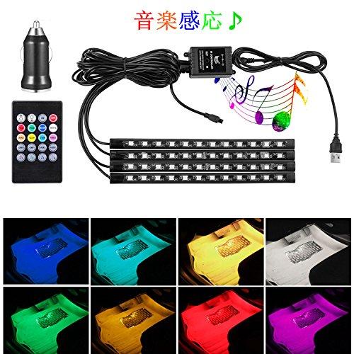 WenTop USB LEDテープライト 防水 高輝度 3M...