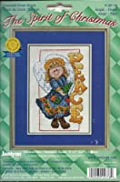 Janlynn Counted Cross Stitch, The Spirit of Christmas, Peace Angel