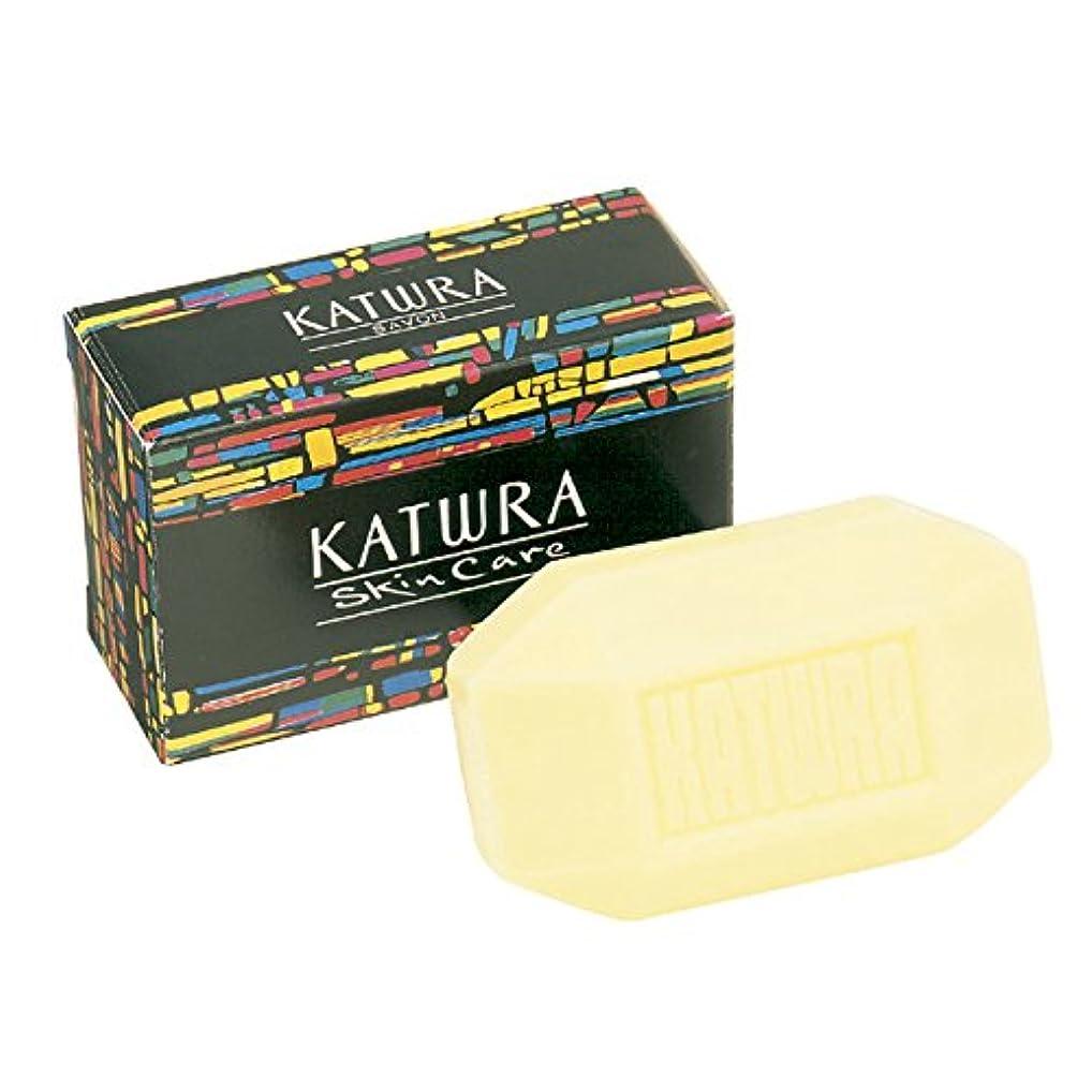 文化ストラップ区画カツウラ サボン(香料入り) 100g
