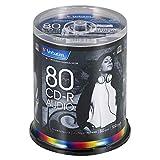 三菱ケミカルメディア Verbatim 音楽用 CD-R MUR80FP100SV2 ?(48倍速/100枚)
