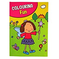 Girls A4 Colouring Book - 60 Pages - Fairy - Book 2 - by Pennine