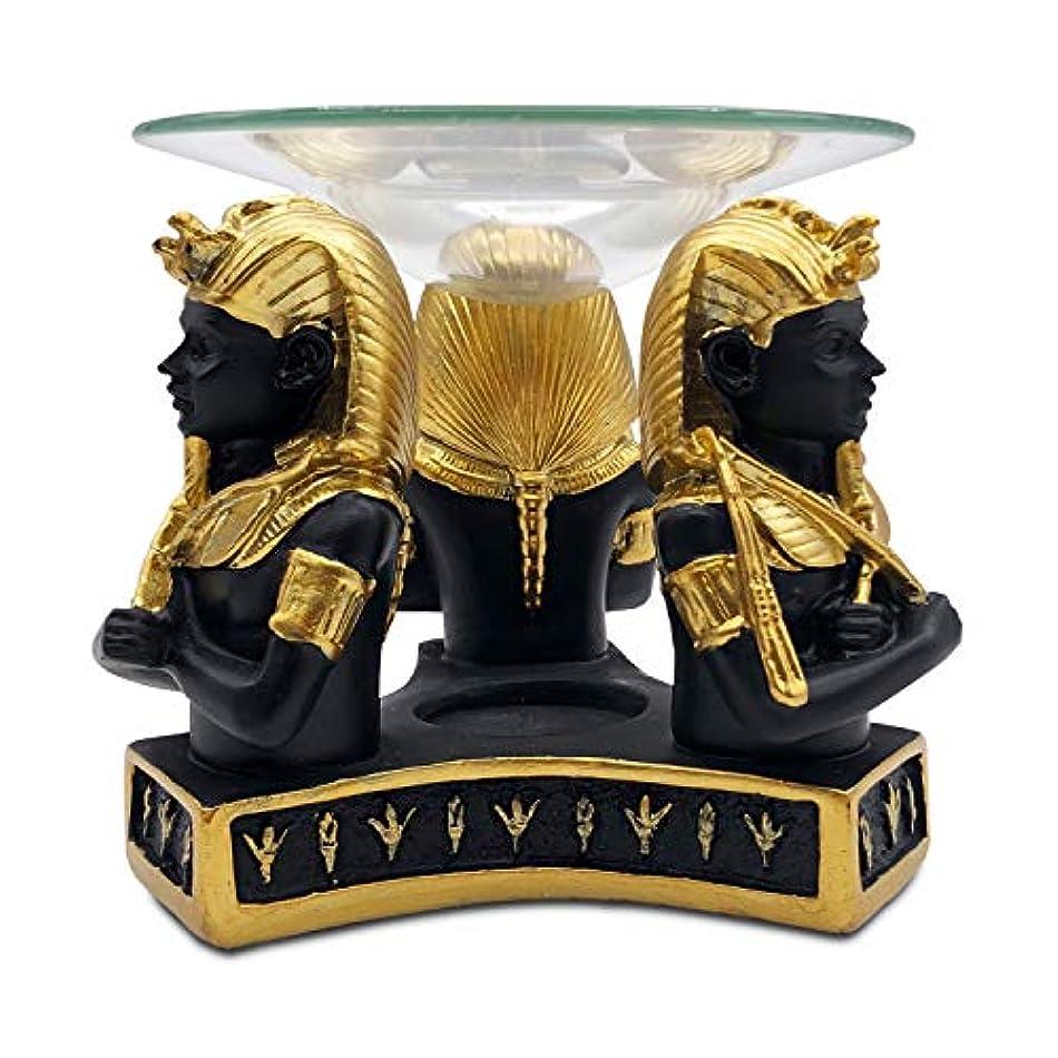 再現するつぶすスプリットエジプトファラオローソク足エッセンシャルオイルアロマディフューザースパヨガ瞑想家の装飾