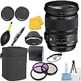 Sigma 24–105mm f 4.0DG OS HSMズームCTレンズバンドルfor Nikonカメラ