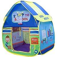 子供用折りたたみ式再生Housesベビーキュートと楽しい学校アウトドアおもちゃテントロッジWigwamアウトドアゲームfor Children