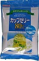 かんてんぱぱ カップゼリーエイティーシー クール 200g(6人分×2袋)