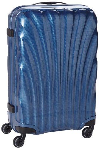 [サムソナイト] スーツケース COSMOLITE コスモライト スピナー 69 無料預入受託サイズ  保証付 68.0L 69cm 2.5kg V22*11106 11 ダークブルー