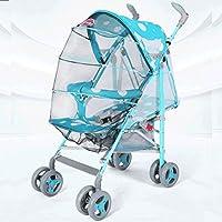 赤ちゃんのベビーカー軽量座って、折りたたみショック四輪プッシュ傘の車の赤ちゃんの子供のベビーカーを置くことができます