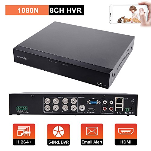 Evtevision 8CH 1080N防犯録画機 AHD ...