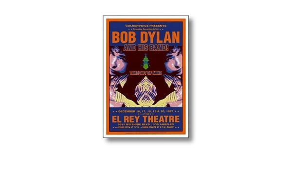 CONCERT POSTER Bob Dylan El Rey Theatre Los Angeles 1997 Dennis Loren