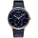 [アデクス] 腕時計 2針クォーツ マルチファンクション 1868A-10-JP19JN 正規輸入品 ブルー
