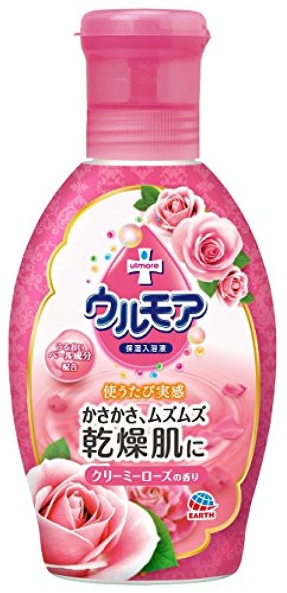 ばか処理する気をつけて保湿入浴液ウルモア クリーミーローズ [600mL]