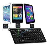 Navitech Android/Windows/Apple IOS用 3 IN 1 ブルートゥース キーボードiPad Air / Sony Xperia Z2 / Microsoft Surface Pro 3などのタブレットにご利用ができます (3 IN 1 Bluetooth Keyboard For Android, Windows and Apple IOS)