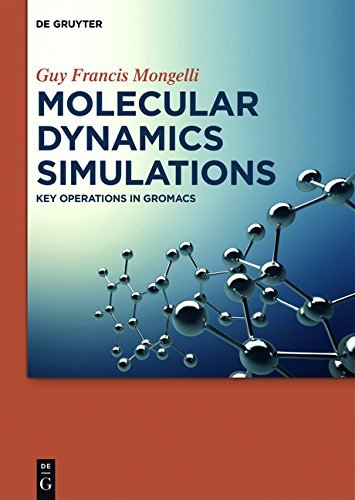 Molecular Dynamics Simulations: Key Operations in GROMACS (English Edition)