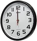 カシオ(Casio) 置き時計・掛け時計 ブラック 21.6×21.6×6.2cm IQ-800J-1JF