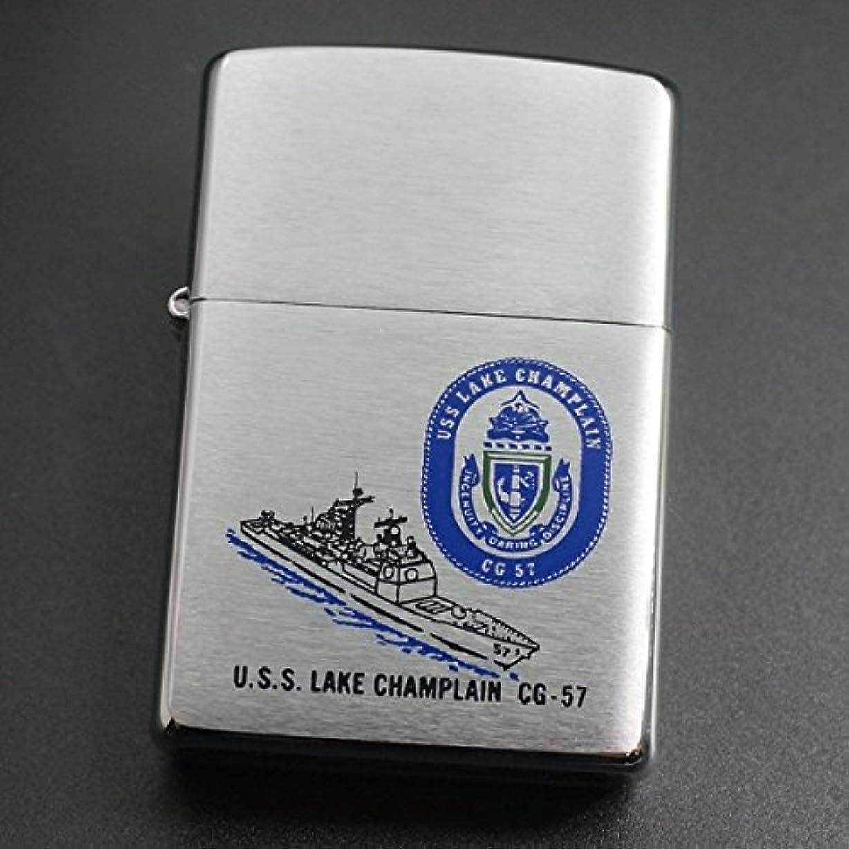 レイアウト慣性争いzippo USS Lake Champlain CG-57 2002年製造