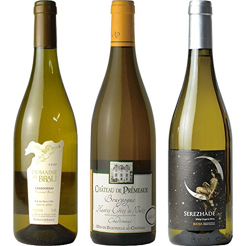 飲み比べ ハードチーズと楽しむ3種の樽熟白ワイン 750ml × 3本 オーガニックワイン セット