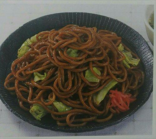 シマダヤ 調理具なしソース焼きそば(太麺)1kg×10P 冷凍