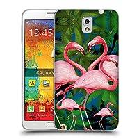 オフィシャル Mark Ashkenazi サマータイム フラミンゴ ソフトジェルケース Samsung Galaxy Note 3
