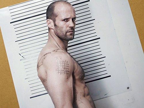 特大写真、ジェイソン・ステイサム、タトゥーの武骨な一枚