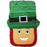 聖パトリックの祝日 帽子付きレプラコーン パーティーピニャータ
