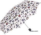 [ムーンバット] FULTON(フルトン) フルトン【ミニ傘】折りたたみ傘 Minilite Animal Heart オフホワイト レディース 日本 F (FREE サイズ)