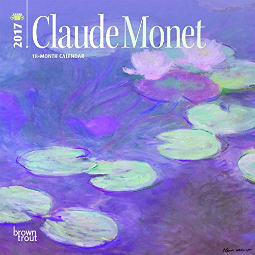 Claude Monet 2017 Calendar (Mini Wall)