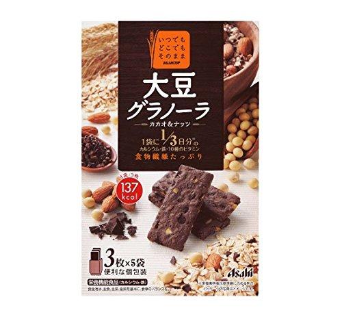 アサヒグループ食品 バランスアップ 大豆グラノーラ カカオ&ナッツ 150g×5個