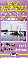 Jeziora Kaszubskie czesc poludniowa mapa 1:50 000