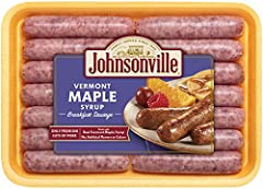 Johnsonville Maple Breakfast Sausage, 340g - Frozen