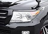 ジャオス(JAOS) JAOS ヘッドライトガーニッシュ ランドクルーザー 200系 HEAD LIGHT GARNISH ABS LC200 12+ 【年式: 12.01-15.07】 【適応: ALL】 B071049