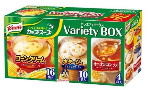 クノール カップスープ バラエティボックス 30袋入