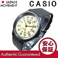 CASIO(カシオ) MQ-24-9B/MQ24-9B ベーシック アナログ ブラック×ベージュ メンズウォッチ 腕時計 [並行輸入品]