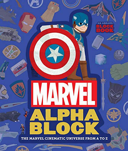 Marvel Alphablock: The Marvel Cinematic Universe from a to Z (Abrams Block)